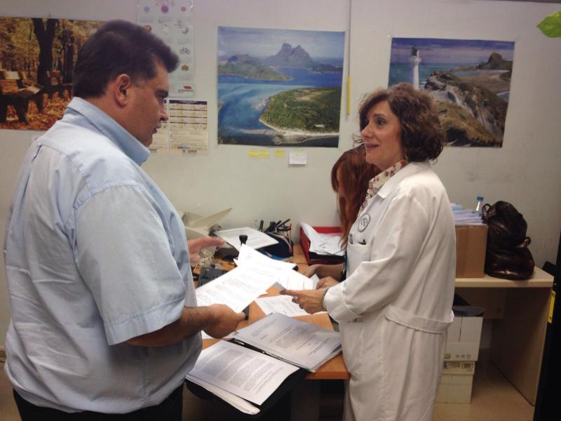 Fernando García, delegado CSI·F en hospital Doctor Moliner