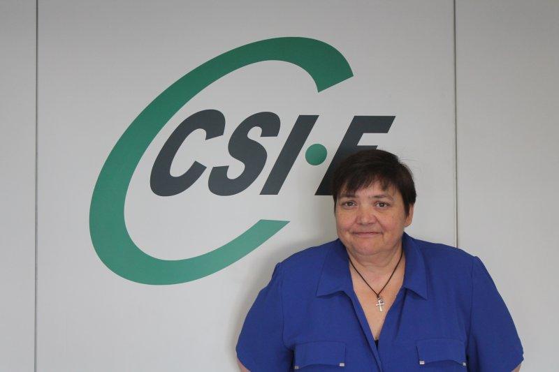 Ruth López, portavoz de CSIF Empresa Privada Comunidad Valenciana