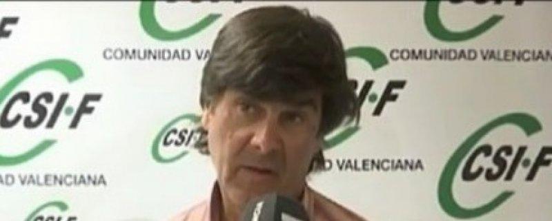 Santiago Álvarez, portavoz de CSIF en SEPE provincia de Valencia