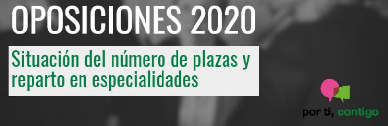 Plazas Oposiciones Secundaria Andalucía 2020