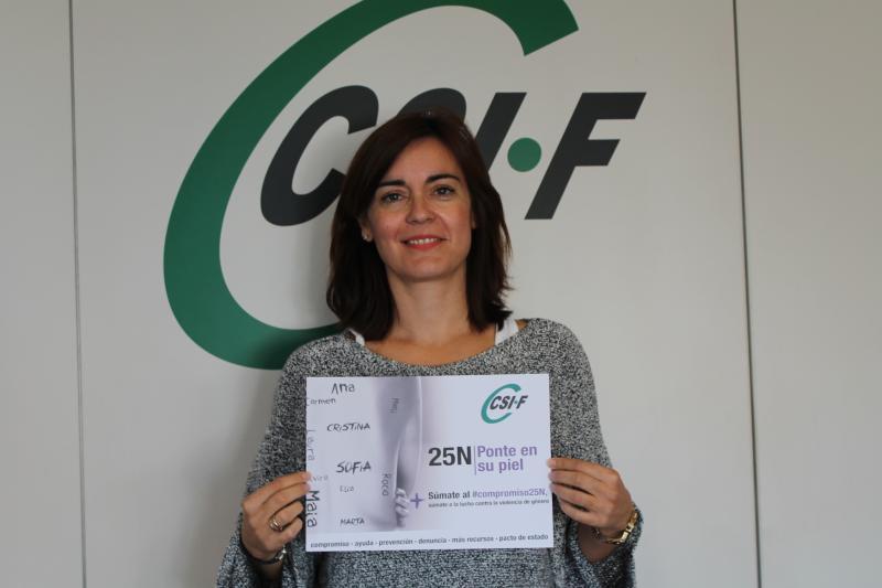 Susana Marco, responsable Igualdad de CSI·F Comunidad Valenciana