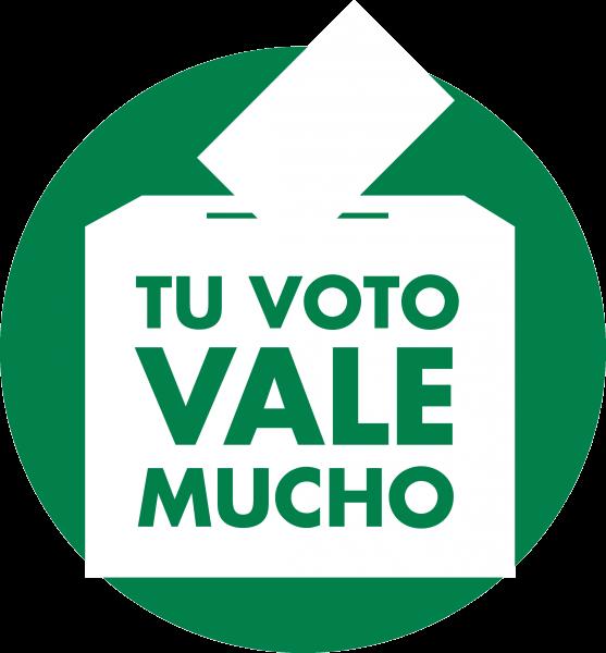 tu voto vale mucho