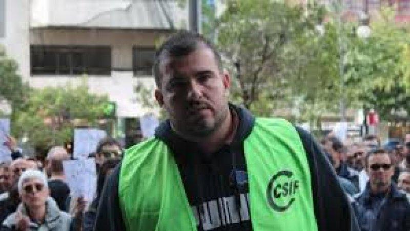 Jorge Vilas, presidente de CSIF Prisiones Comunidad Valenciana