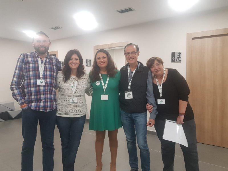 Delegados de CSIF en las elecciones de IMED