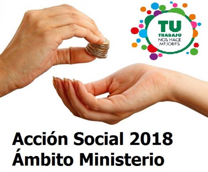 CSIF informa - Listados definitivos Acción Social 2018 ámbito Ministerio
