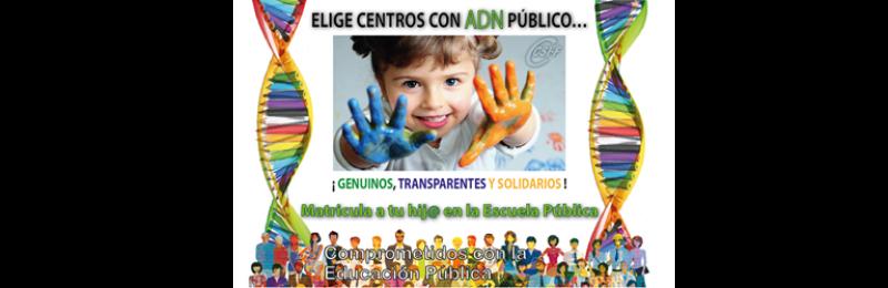 CSIF-A pide a las familias elegir centros educativos con ADN público