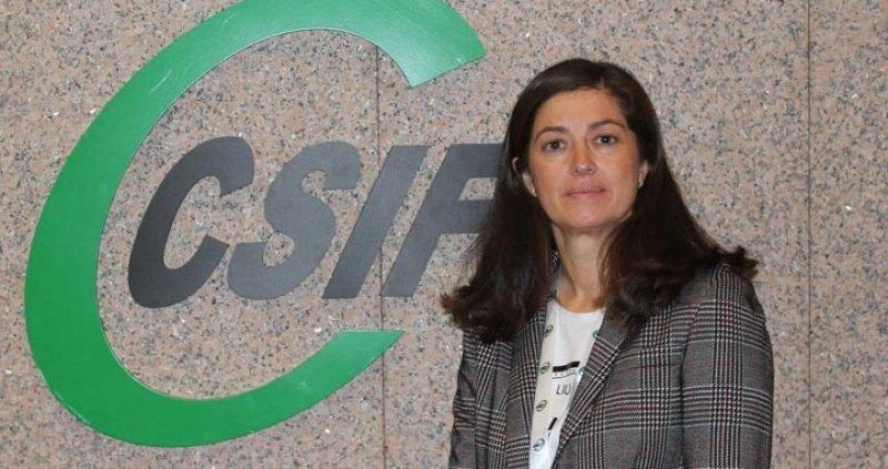 Alicia Torres, presidenta autonómica de CSIF Comunidad Valenciana