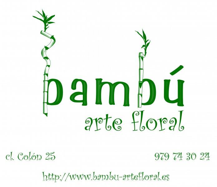 Bambú - arte floral -