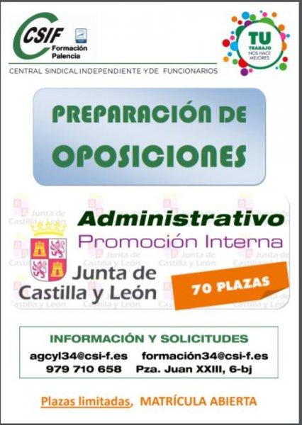 Administrativo Promoción Interna JCyL