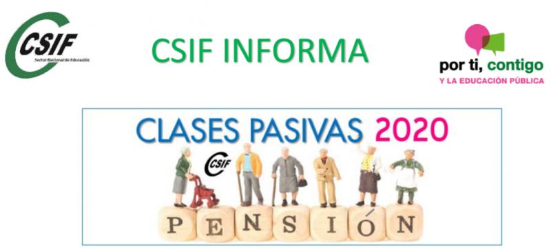 CLASES PASIVAS 2020