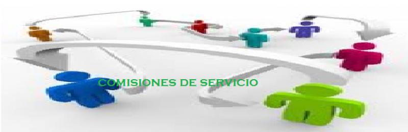 comisiones de servicio