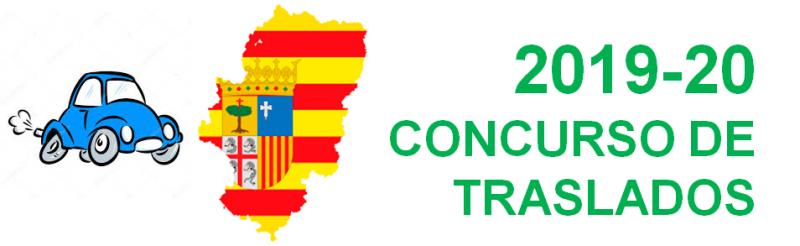 Concurso de traslados Aragón - Curso 2019-20