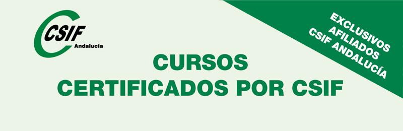 Cursos certificados por CSIF