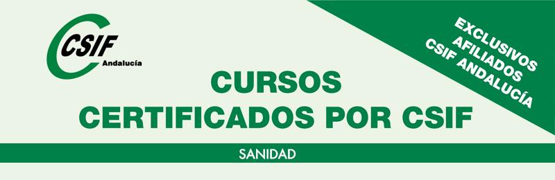 Cursos certificados por CSIF | SANIDAD
