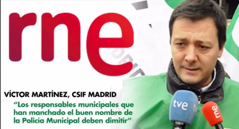 CSIF pide responsabilidades políticas en el Ayuntamiento de Madrid