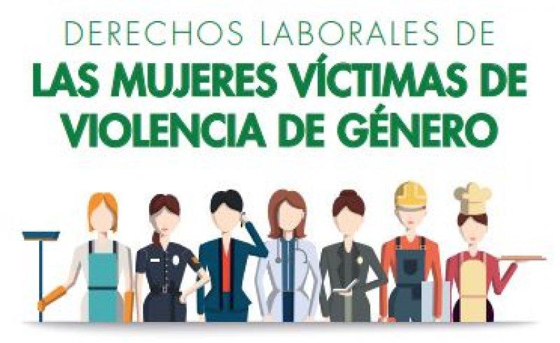 CSIF Tríptico derechos laborales mujeres víctimas de violencia de género