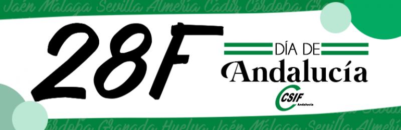 CSIF-A reclama diálogo y consenso entre fuerzas sociales y políticas para defender el lugar de Andalucía en la celebración del 28F