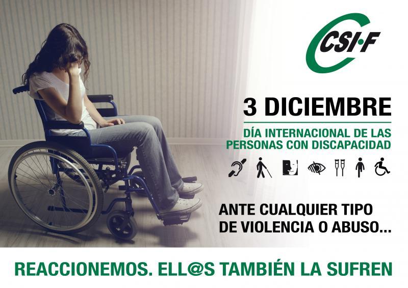 Día Internacional de la Discapacidad.