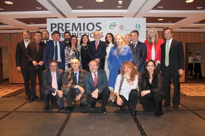 Foto miembros del jurado en la pasada edición