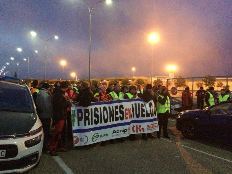 Huelga de prisiones