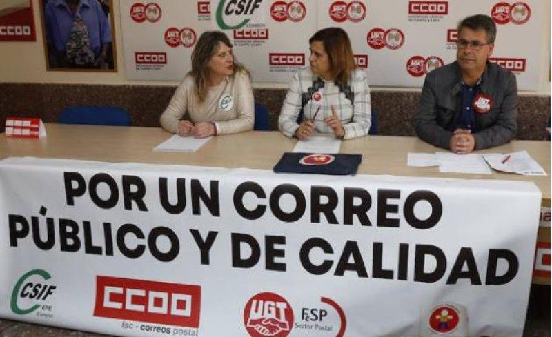 huelga en Correos (Norte de Castilla)