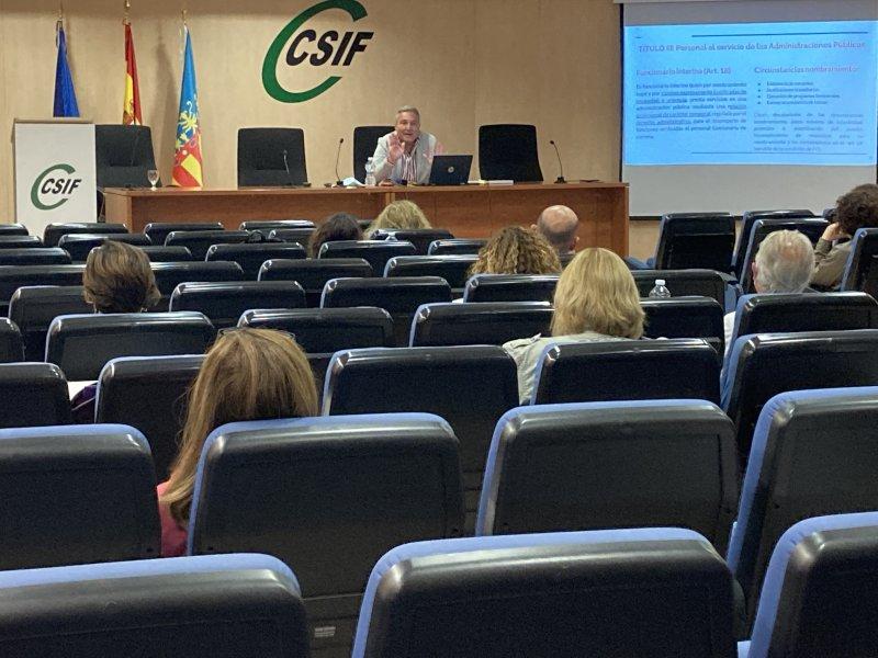 Javier Zaragosí impartió la sesión