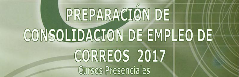 """Curso """"Preparación de Consolidación de Empleo Correos 2017"""""""