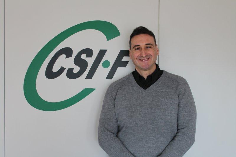 José Luis Sáez, delegado de CSIF Seguridad Privada