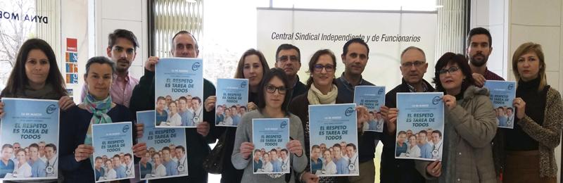 """Campaña """"El respeto es tarea de todos"""" contra el aumento de las agresiones a personal sanitario"""