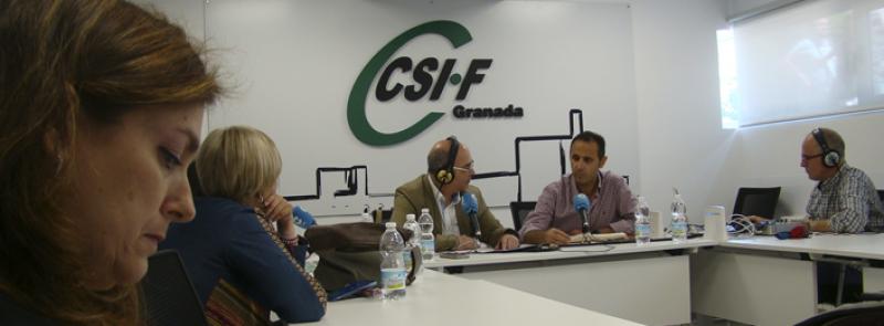 Actualidad Elecciones Sindicales: programa COPE desde la sede de CSIF Granada