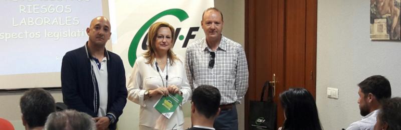 Encuentro de delegados de prevención de riesgos laborales en Huelva