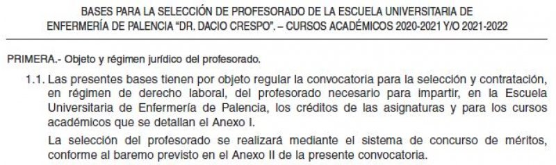 Profesorado EUE