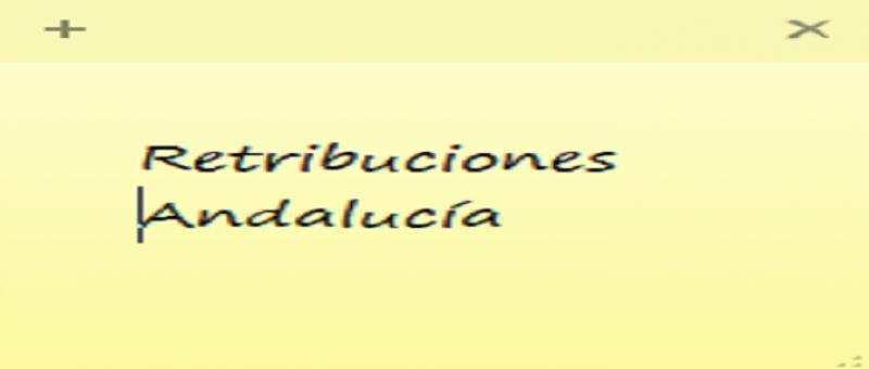 retribuciones personal de Justicia en Andalucía