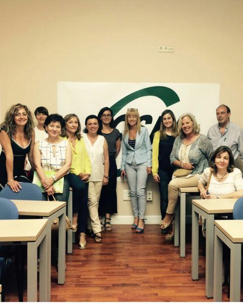 Primera reunión grupo secretarias de igualdad
