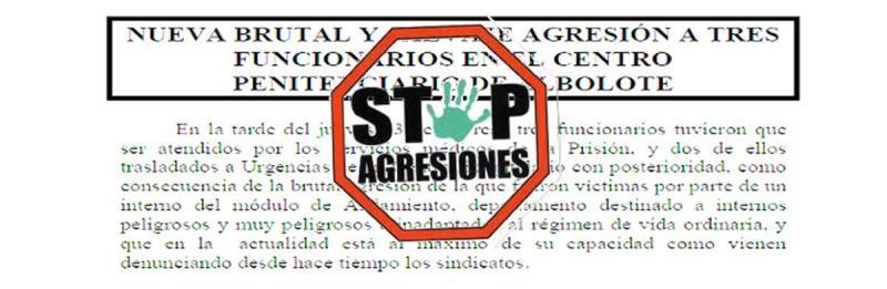 Stop agresiones C. P. Albolote