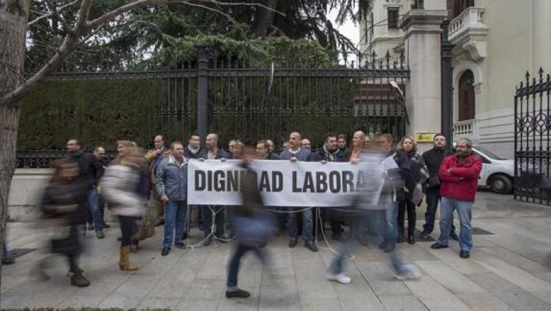 Trabajadores de la prision Fotografia de Ideal.es/Alfredo Aguilar