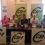 Inicio del I Congreso Ordinario Integrador de CSI-F del sector autonómico de Administración General del Estado de Castilla-La Mancha