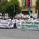 CSIF Andalucía | Movilización por la recuperación de derechos recortados en Sevilla