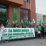 CSIF Andalucía | Movilización por la recuperación de derechos recortados en Cádiz