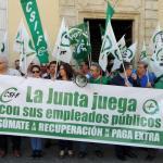 CSIF Andalucía | Movilización por la recuperación de derechos recortados en Córdoba