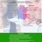 Campaña CSIF Día Mundial del Corazón, diferencias síntomas hombre y mujer