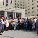Concentración sindicatos Granada
