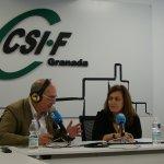 CSIF COPE Más Granada - responsable Justicia, Silvia Martín