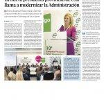 Granada Hoy 22/11/2019 X Congreso provincial Granada