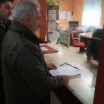 Registro de petición de jubilación anticipada en la subdelegación de Gobierno de Guadalajara