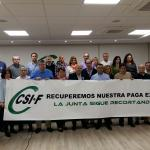 CSIF-A convoca movilizaciones en todas las provincias para exigir a la Junta el abono de la extra de 2012 y la recuperación del resto de derechos