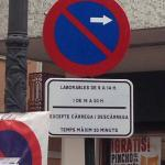 Más señales en valenciano únicamente