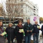 Stand CSIF Granada en Puerta Real 25N