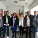 Reunión con la  directora general de Infancia y Familias de la Consejería de Igualdad y Políticas Sociales de la Junta de Andalucía, Ana Conde Trescastro