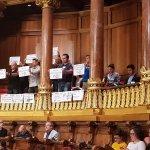 Manifestación de CSIF en el Pleno Municipal, en defensa de la POLICÍA Guardia Urbana y de la continuidad de USP